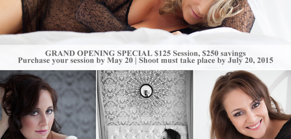 boudoir photography studio