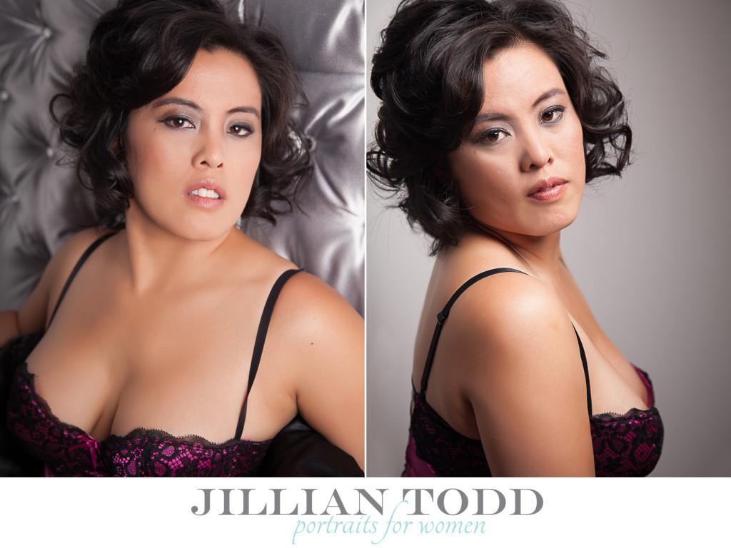 boudoir lingerie photo shoot