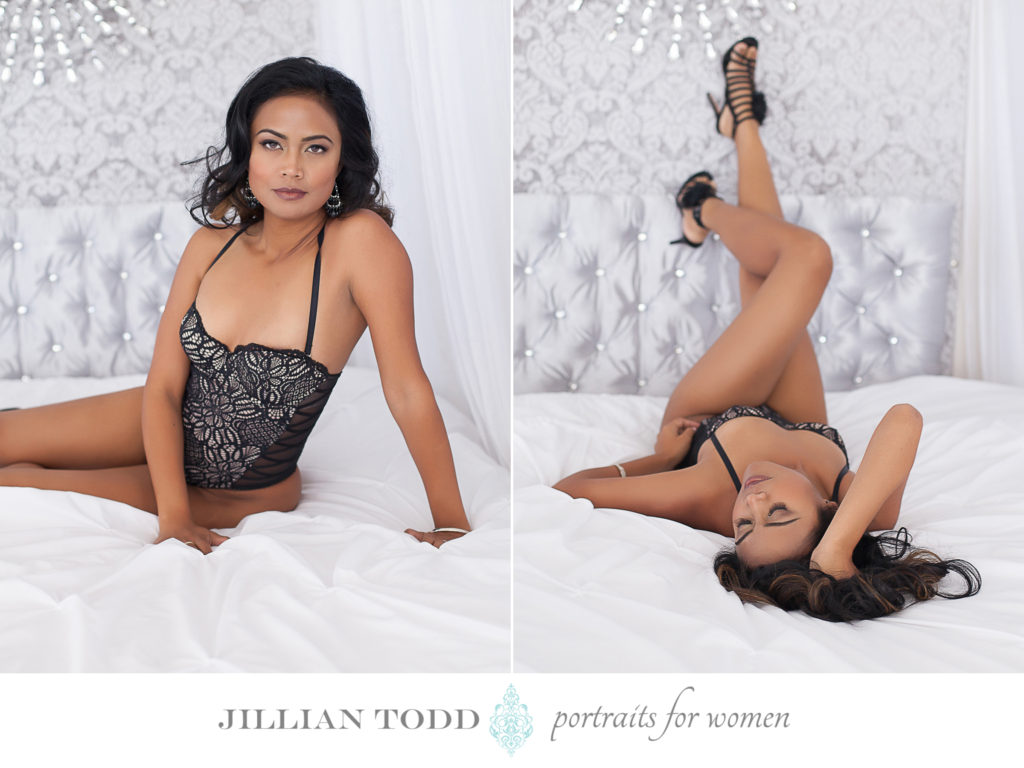 granite-bay-boudoir-photo-of-woman-on-white-bed