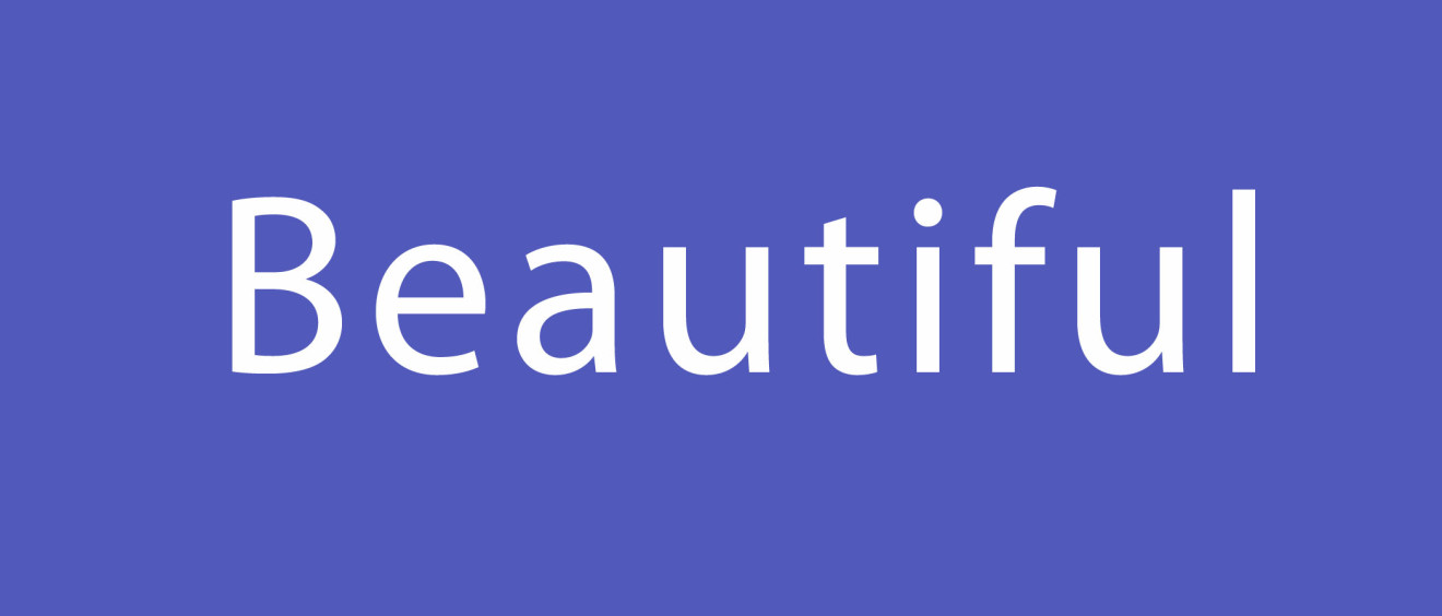 #thinkbeautiful
