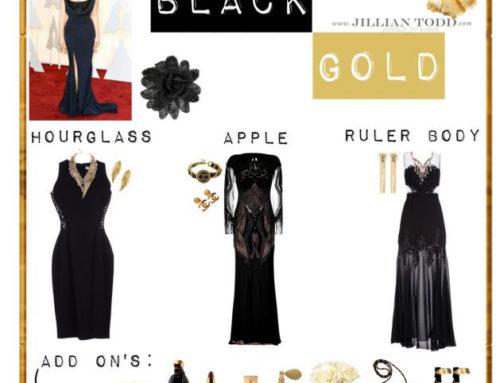 Luxe Black and Gold | Glamour Photography Wardrobe