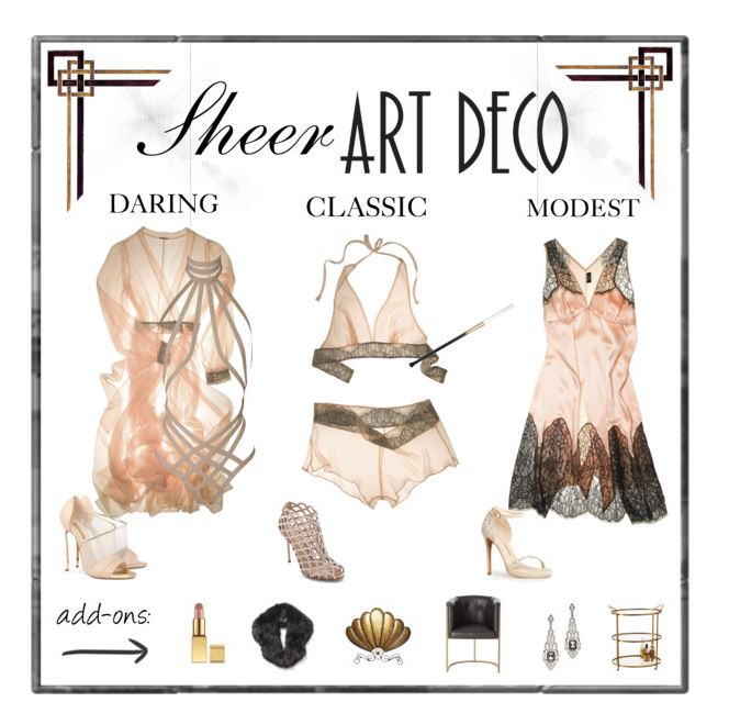 boudoir outfit ideas silky gatsby art deco lingerie