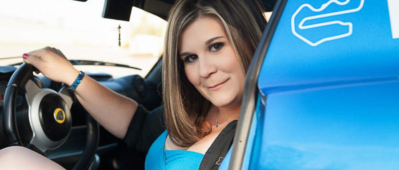 Sacramento Glamour Portraits with a car